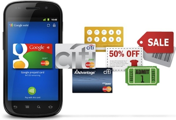 Google Wallet, celular, pagamento